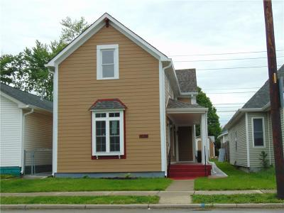 Indianapolis Single Family Home For Sale: 1638 English Avenue