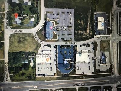 Avon Commercial Lots & Land For Sale: 125 North County Road 900 E