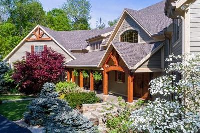Delaware County Single Family Home For Sale: 2710 North Pleasant Creek Drive