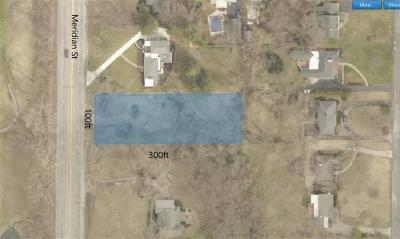 Indianapolis Residential Lots & Land For Sale: 6765 North Meridian Street