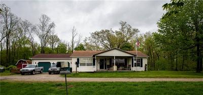 Delaware County Single Family Home For Sale: 5200 West County Road 1275 N