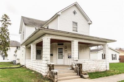 Hamilton County Single Family Home For Sale: 516 South 9th Street