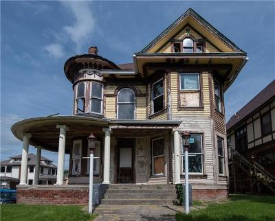 Indianapolis Single Family Home For Auction: 2065 North New Jersey Street