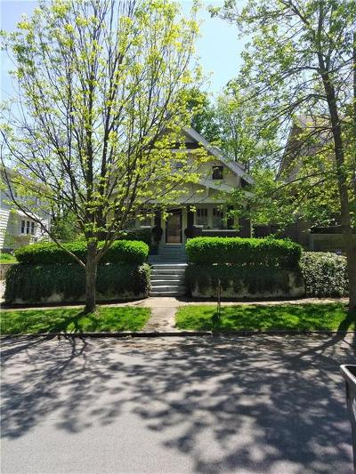 Indianapolis Single Family Home For Sale: 5615 Lowell Avenue