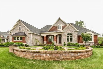 Zionsville Single Family Home For Sale: 6344 Boulder Springs Court