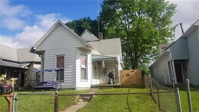 Indianapolis Single Family Home For Sale: 1624 Woodlawn Avenue