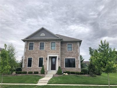 Zionsville Single Family Home For Sale: 6745 Chapel Crossing