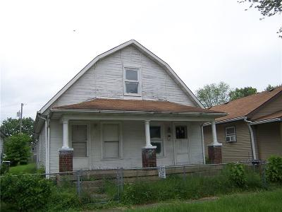 Indianapolis Single Family Home For Sale: 506 South Holmes Avenue