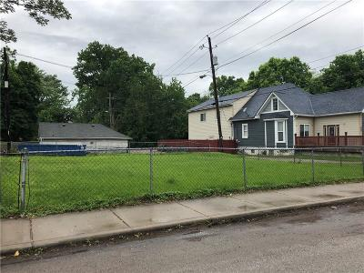 Indianapolis Residential Lots & Land For Sale: 1018 Newman Street