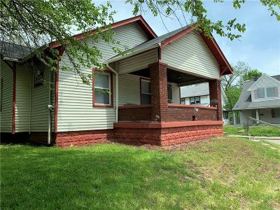 Indianapolis Single Family Home For Sale: 502 West 28th Street