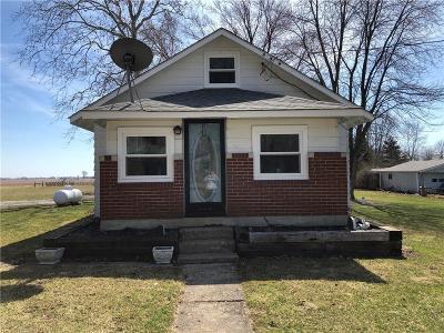 Hendricks County Single Family Home For Sale: 1151 East County Road 500 N