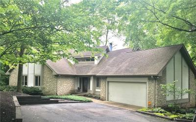 Indianapolis Single Family Home For Sale: 11609 Fall Creek Road