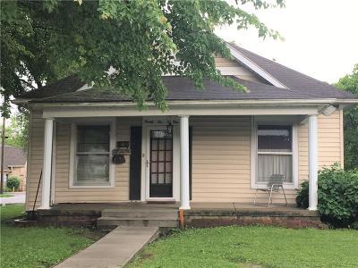 Columbus Single Family Home For Sale: 2204 Elm Street
