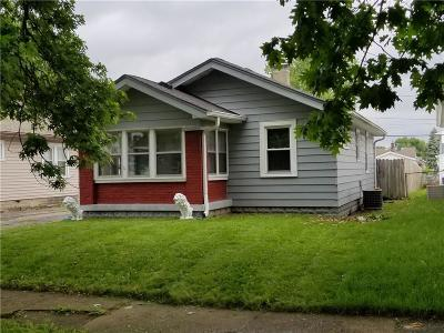 Indianapolis IN Single Family Home For Sale: $119,900