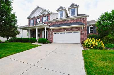 McCordsville Single Family Home For Sale: 6949 West Winding Bend