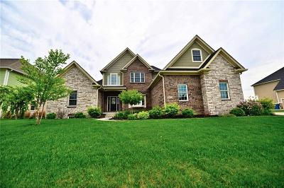 Fishers Single Family Home For Sale: 9977 Backstretch Row