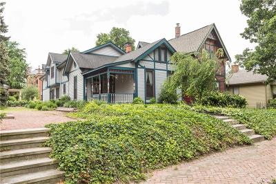 Indianapolis Single Family Home For Sale: 527 East Vermont Street