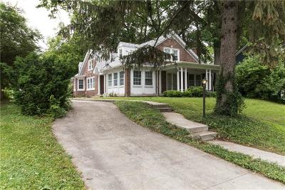 Indianapolis Single Family Home For Sale: 4326 Central Avenue