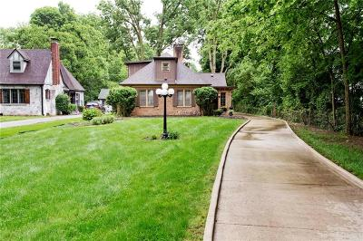 Indianapolis Single Family Home For Sale: 4075 North Illinois Street