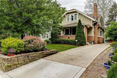 Indianapolis Single Family Home For Sale: 317 East 47th Street