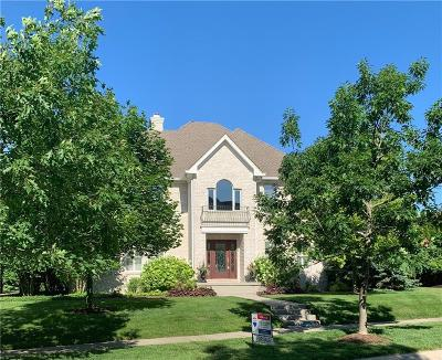 Zionsville Single Family Home For Sale: 6732 East Stonegate Drive