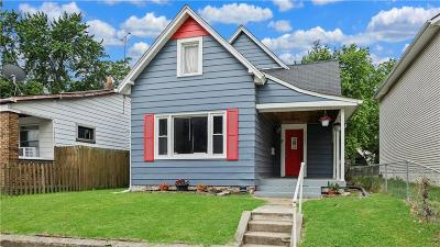 Indianapolis Single Family Home For Sale: 1154 Villa Avenue