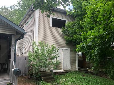 Indianapolis Single Family Home For Sale: 856 Fletcher Avenue