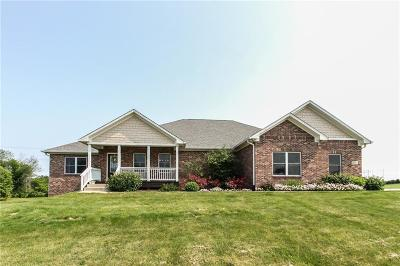 Martinsville Single Family Home For Sale: 8358 Haggard Drive