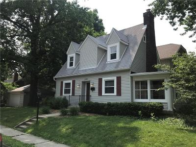 Indianapolis Single Family Home For Sale: 5455 North College Avenue