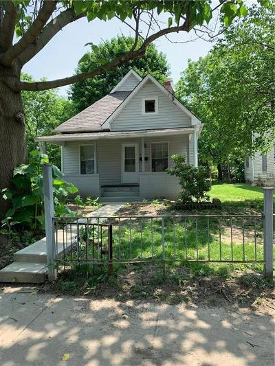 Indianapolis Single Family Home For Sale: 4127 Cornelius Avenue
