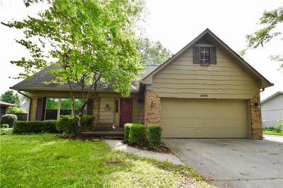 Columbus Single Family Home For Sale: 2825 Bittersweet Boulevard