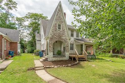 Indianapolis Multi Family Home For Sale: 6190 Washington Boulevard