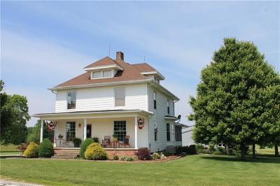 Montgomery County Single Family Home For Sale: 2703 North State Road 25