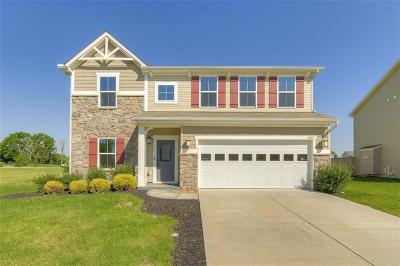 Brownsburg Single Family Home For Sale: 6840 Branches Drive