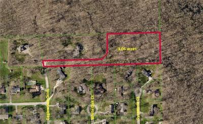 Zionsville Residential Lots & Land For Sale: 6101 South Eaglewood Drive