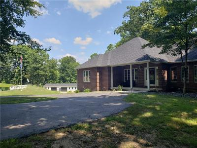 Single Family Home For Sale: 6412 South County Road 100 W