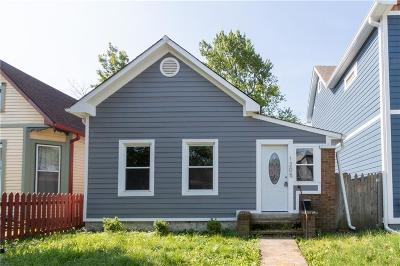 Indianapolis Single Family Home For Sale: 1205 Hoyt Avenue