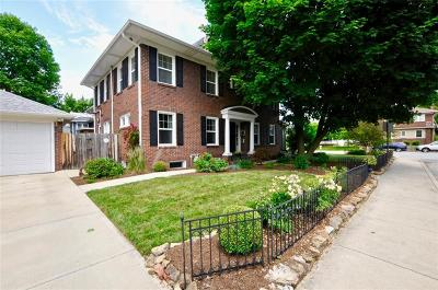 Indianapolis Single Family Home For Sale: 3702 Central Avenue