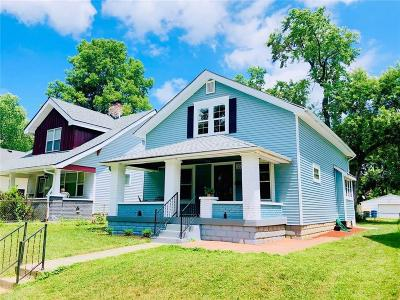 Indianapolis Single Family Home For Sale: 4133 North Byram Avenue