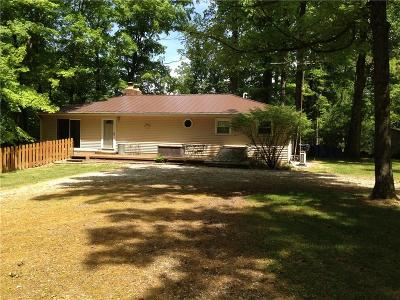 Parke County Single Family Home For Sale: 9603 East Har0way Drive