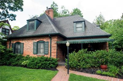 Indianapolis Single Family Home For Sale: 5728 Winthrop Avenue