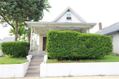 Indianapolis Single Family Home For Sale: 2302 Prospect Street