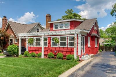 Indianapolis Single Family Home For Sale: 6145 Primrose Avenue