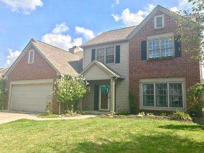 Indianapolis Single Family Home For Sale: 8637 Ray Circle