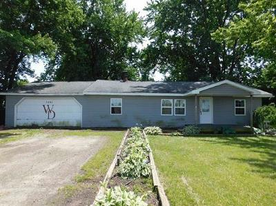 Delaware County Single Family Home For Sale: 7201 West County Road 850 N