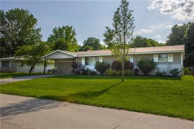 Martinsville Single Family Home For Sale: 3330 Willowbrook Drive