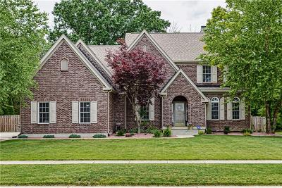 Zionsville Single Family Home For Sale: 4358 Greenthread Drive
