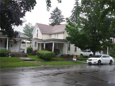 Rushville Single Family Home For Sale: 507 North Morgan Street
