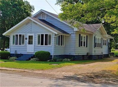 Delaware County Single Family Home For Sale: 14417 West Main Street