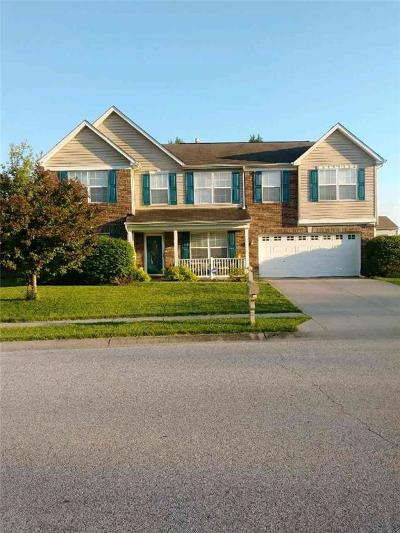 Indianapolis Single Family Home For Sale: 10809 Spring Green Drive